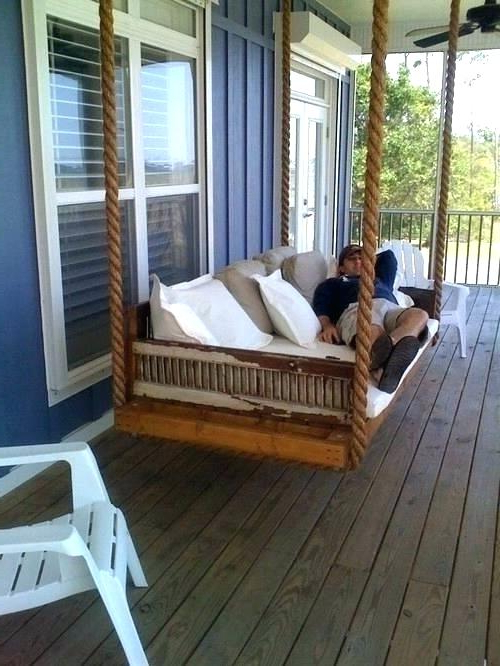 Most Recently Released Porch Swings For Daybed Porch Swing Cushions – Bensonandsons (View 8 of 20)