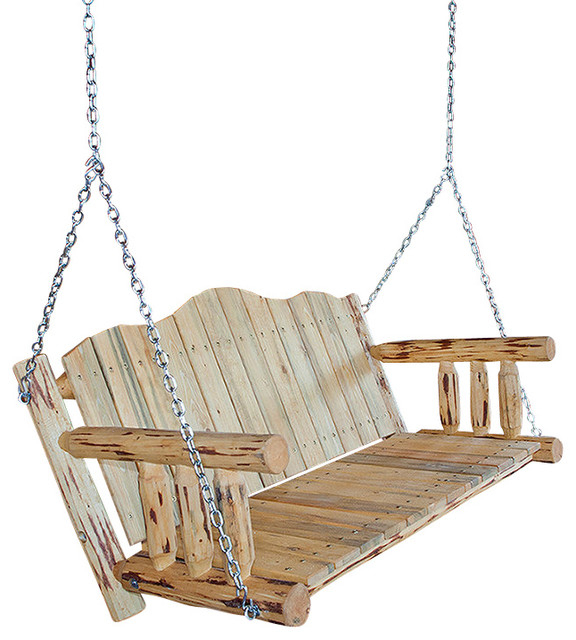 Most Recently Released Porch Swings With Chain Inside Montana Collection Porch Swing, Ready To Finish (View 4 of 20)