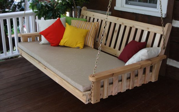 Most Up To Date Custom Daybed Porch Outdoor Cover Looking Good Diy Mattress Regarding Country Style Hanging Daybed Swings (View 14 of 20)