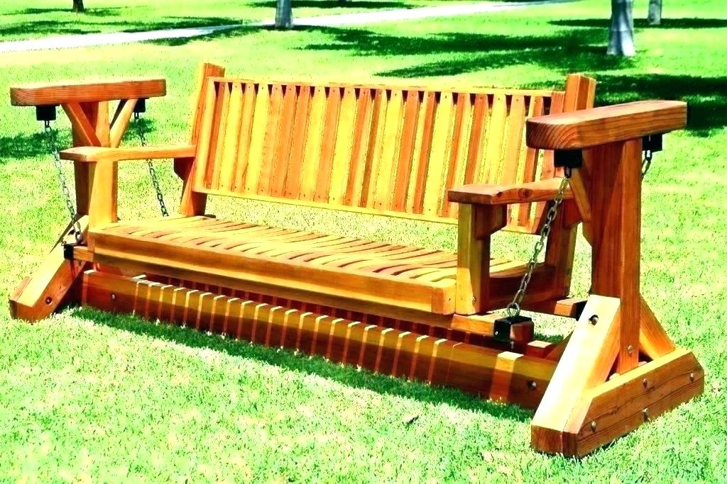 Most Up To Date Outdoor Patio Swing Glider Benches For Outdoor Bench Swings – Athayadecor (View 18 of 20)