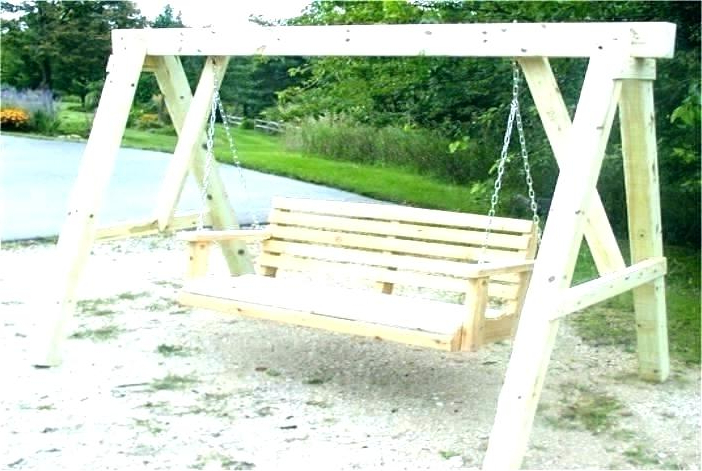 Most Up To Date Pergola Porch Swings With Stand Throughout Porch Swing Pergola Bed Plans Outside Pallet From Pallets (Gallery 20 of 20)