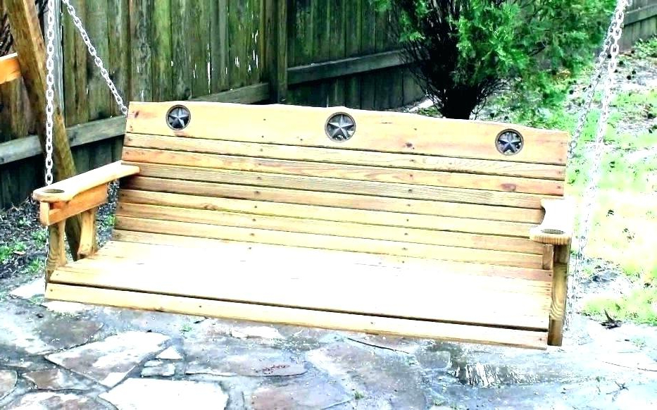 Most Up To Date Wooden Hanging Porch Swing – Xanavi.biz For Patio Hanging Porch Swings (Gallery 20 of 20)