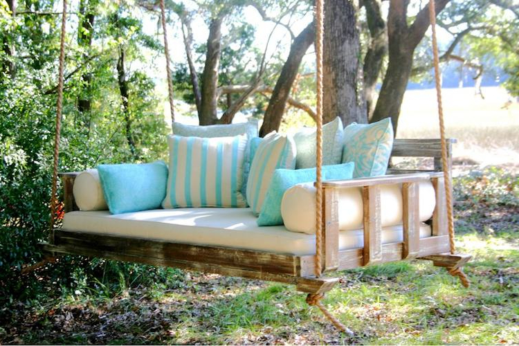 Nautical Porch Swings Pertaining To Well Known Porch Swings / 10 Best Garden, Outdoor And Patio Swings (Gallery 19 of 20)