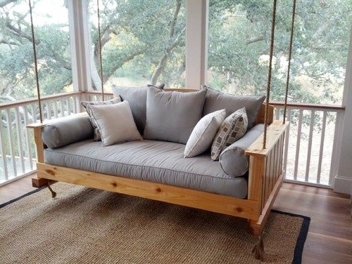 Newest Definitely Need A Daybed Swing On The Verandah Of The Pertaining To Day Bed Porch Swings (Gallery 14 of 21)