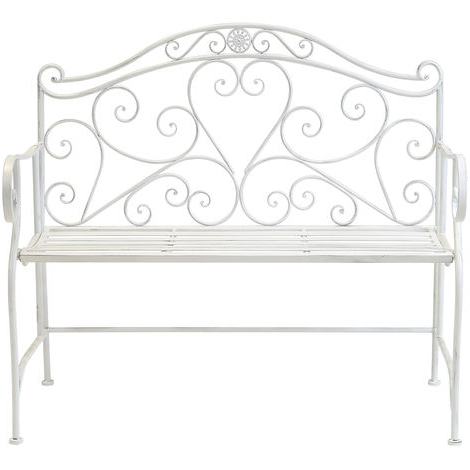 Newest Iron Grove Slatted Glider Benches Intended For Best Price Love Bench (View 19 of 20)