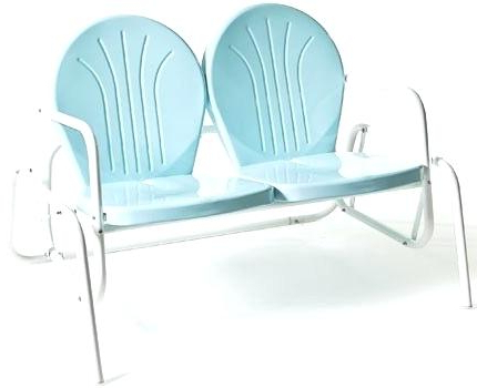 Newest Retro Glider – Debtfreeme.co Within Metal Retro Glider Benches (Gallery 9 of 20)