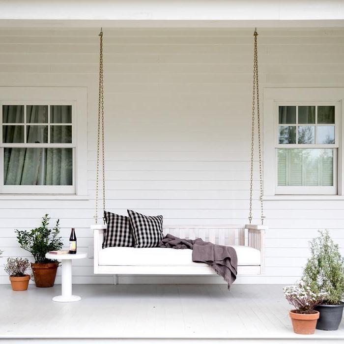 Outdoor Decor, Room Decor, Decor Regarding Lamp Outdoor Porch Swings (View 5 of 20)