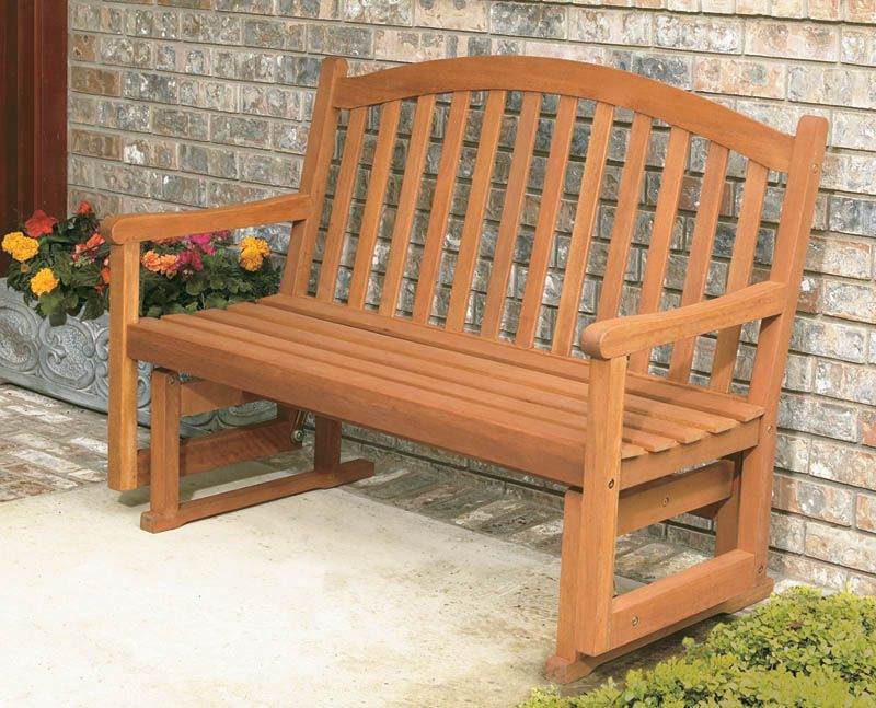 Outdoor Glider Bench Furniture (View 8 of 20)