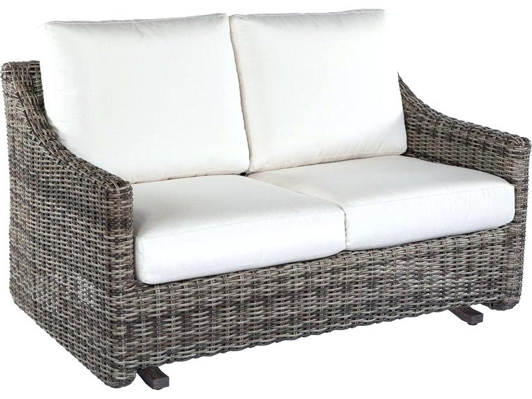 Outdoor Loveseat Glider – Mryoung (View 17 of 20)
