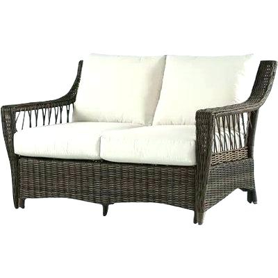 Outdoor Loveseat Gliders With Cushion Regarding Most Current Outdoor Loveseat Glider Replacement Cushions – Ready2connect (View 18 of 20)