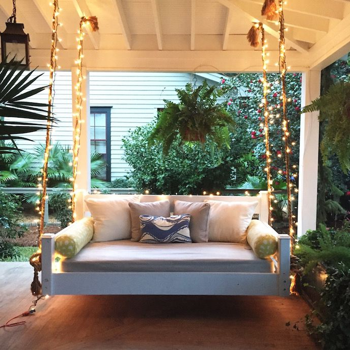Outdoor Porch Bed, Porch With Popular Outdoor Porch Swings (View 6 of 20)