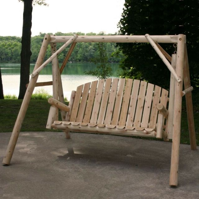 Outdoor Porch Swing Stand Set 54 In (View 16 of 20)