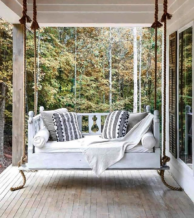 Outdoor Porch Swings Throughout Widely Used The Best Front Porch Swing Styled Beautifully With Gorgeous (View 7 of 20)