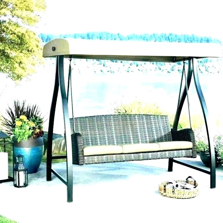 Outdoor Swing Canopy Top – Freesmoke (View 20 of 20)