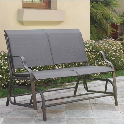 Outdoor Throughout Outdoor Patio Swing Glider Bench Chairs (View 11 of 20)