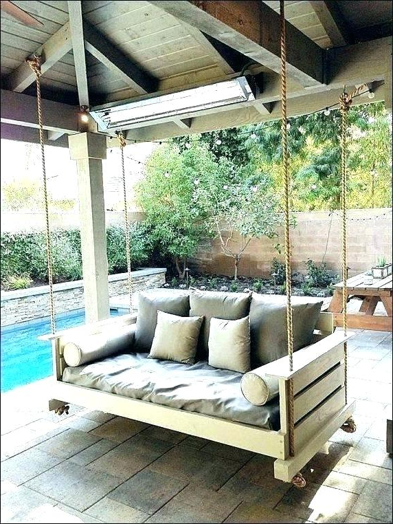 Outside Porch Swings – Utahcorporateresponsibility Pertaining To 2020 Country Style Hanging Daybed Swings (View 18 of 20)