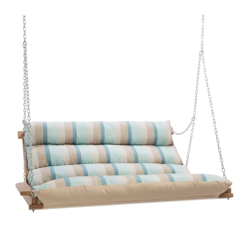 Featured Photo of Deluxe Cushion Sunbrella Porch Swings