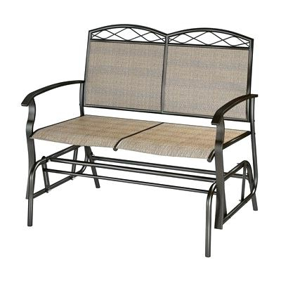 Padded Sling Double Glider Benches With Regard To Recent Outdoor Double Glider Rocker Plans Patio G – Techvay (Gallery 15 of 20)