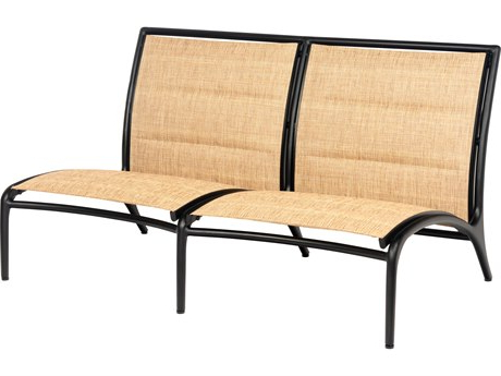 Padded Sling Loveseats With Cushions For 2020 Woodard Orion Padded Sling Collection (View 19 of 20)