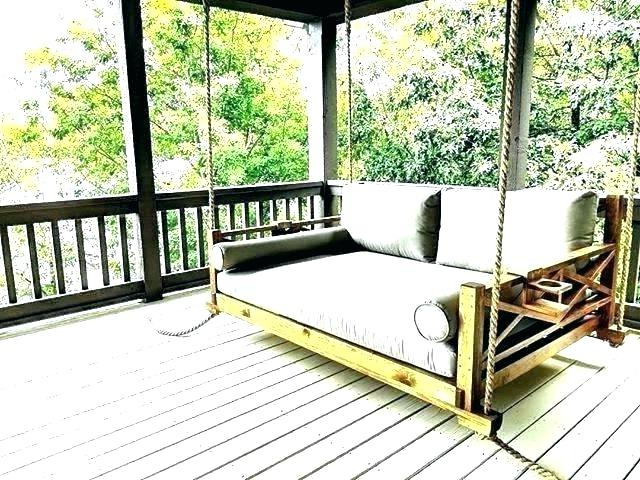Patio : Enchanting Low Country Daybed Swing Appealing Home With Regard To Most Current Country Style Hanging Daybed Swings (View 10 of 20)