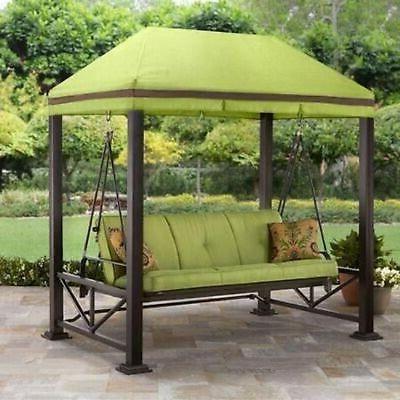 Patio Gazebo Porch Canopy Swings Inside Famous Garden Swing Chair Porch Swings Outdoor Living Patio Hammock (View 12 of 20)