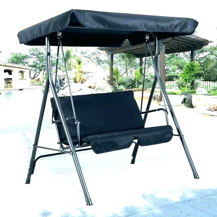Patio Gazebo Porch Canopy Swings Intended For Fashionable Porch Swing Replacement Parts – Dontdreamjustdoit.online (Gallery 17 of 20)