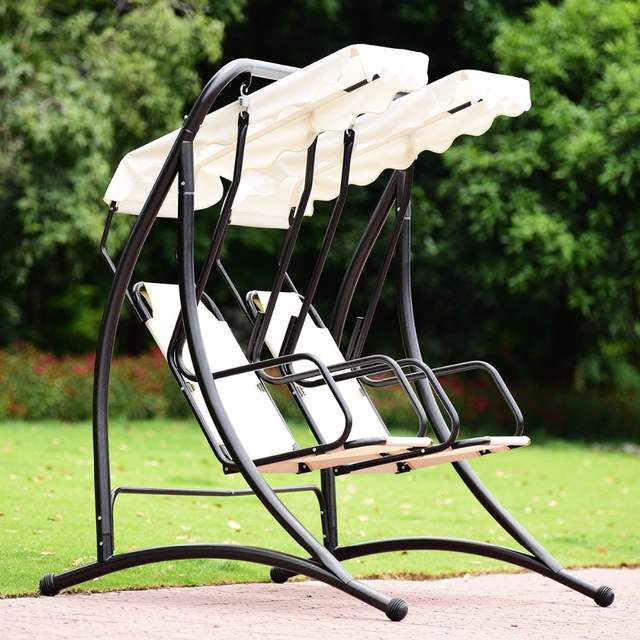 Patio Glider Hammock Porch Swings Regarding Most Up To Date Us $142.99 (Gallery 19 of 20)