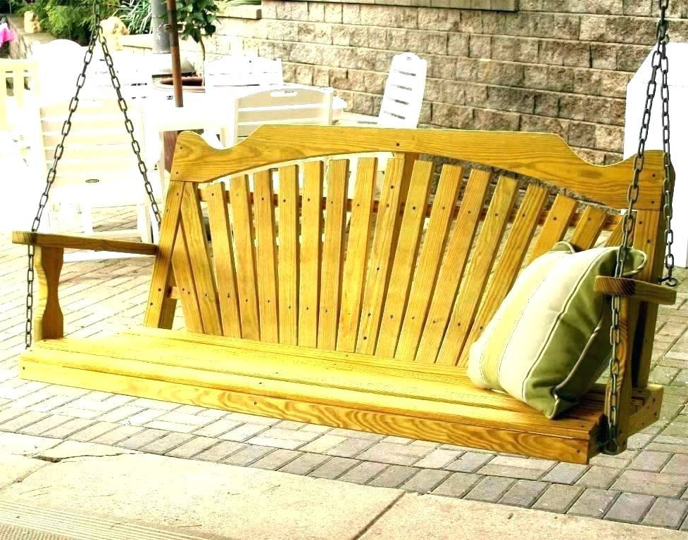 Patio Hanging Porch Swings With Well Known Splendid Hanging Porch Bed Swings Swing Plans Cushions Round (View 2 of 20)