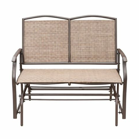 Patio Park Garden Bench Rocking Chair Porch Path Outdoor With Most Current Outdoor Patio Swing Porch Rocker Glider Benches Loveseat Garden Seat Steel (View 3 of 20)