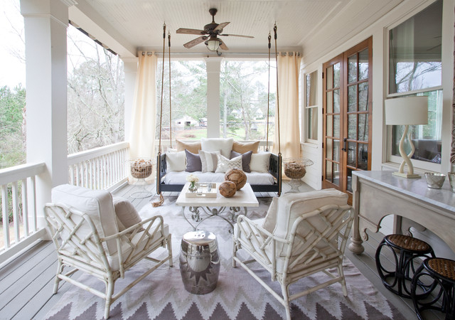 Popular 50 Beautiful Ways With Porch Swings Inside Classic Porch Swings (View 13 of 20)