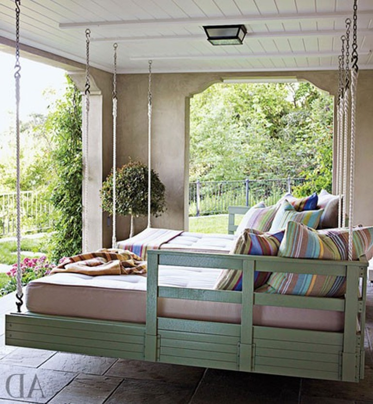 Popular Brilliant Hanging Bed Swing Daybed Plan You Tube Diy With Intended For Hanging Daybed Rope Porch Swings (View 20 of 20)