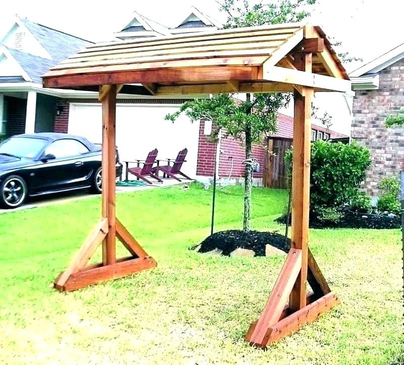 Popular Canopy Patio Porch Swing With Stand For Winning Outdoor Covered Swing Swinging Lounger Outsunny (View 20 of 20)
