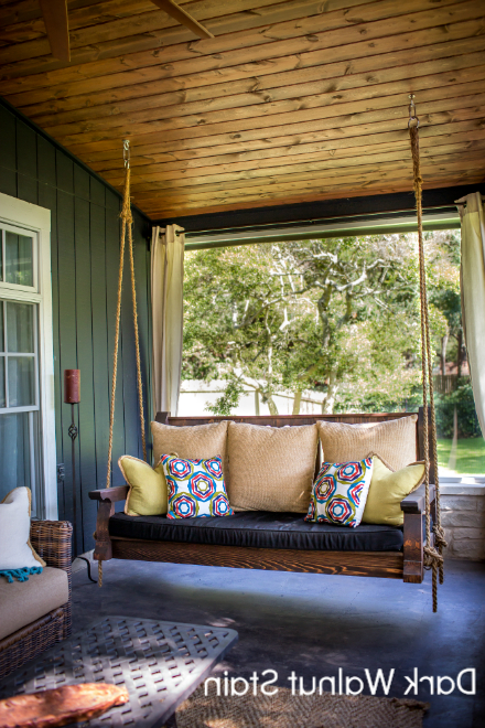 Popular Classic Porch Swings Pertaining To Nostalgic Classic Porch Swing (View 11 of 20)