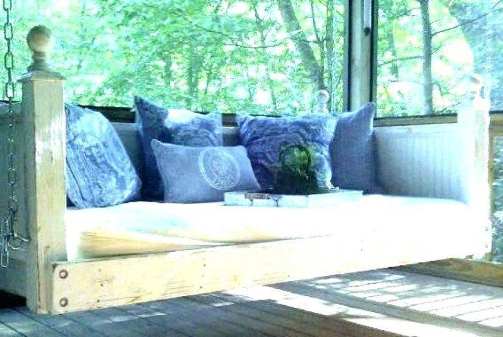 Popular Day Bed Porch Swings Regarding Swinging Beds Bedroom Likable Outdoor Porch Swing Hanging (View 15 of 21)