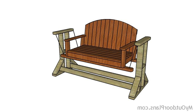 Popular Glider Swing Plans (View 16 of 20)