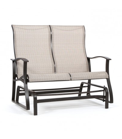 Popular Mallin Albany Sling Double Glider With Sling Double Glider Benches (View 10 of 20)