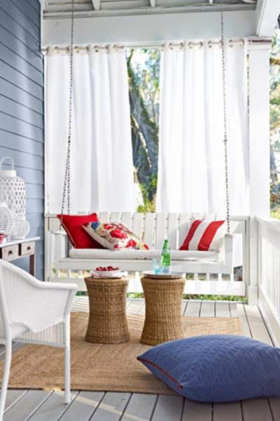 Popular Nautical Porch Swing (View 4 of 20)