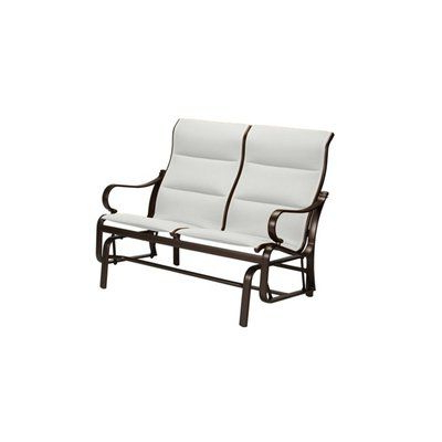 Popular Padded Sling Double Glider Benches Intended For Tropitone Torino Padded Sling Double Glider Chair With (View 7 of 20)