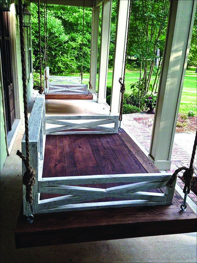 Popular Patio Hanging Porch Swings In Free Do It Yourself Patio Swing Plans & Suggestions To Chill (View 11 of 20)