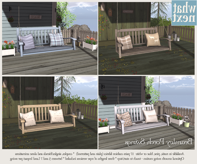 Popular Plain Porch Swings Intended For Bramley Porch Swings – What Next (View 11 of 20)