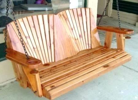 Popular Vineyard Porch Swings Pertaining To Polywood Porch Swing – Amiciperibaffi (View 13 of 20)