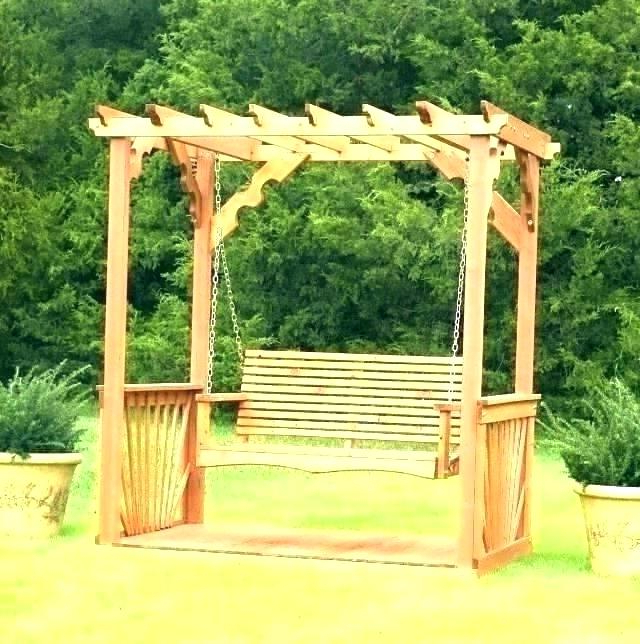 Porch Swing Arbor – Thelsf (View 4 of 20)