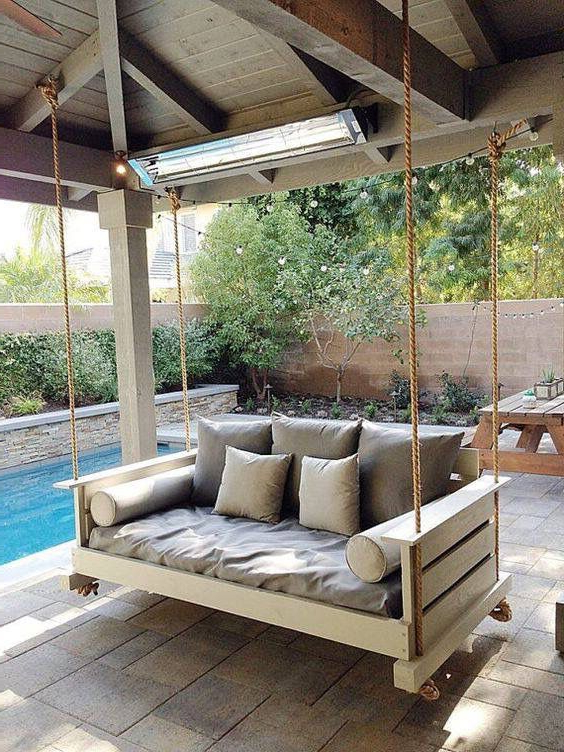 Porch Swing, Porch Bed, Swinging Chair With Regard To Day Bed Porch Swings (Gallery 6 of 21)
