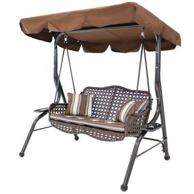 Porch Swing – Stand Included – Porch Swings – Patio Chairs Regarding 2019 Outdoor Canopy Hammock Porch Swings With Stand (Gallery 4 of 20)