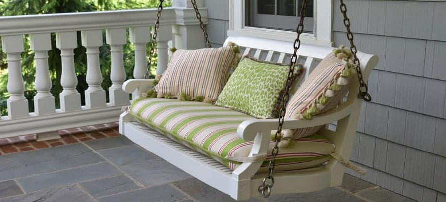 Porch Swings Pertaining To Famous Primer On Porch Bed Swings – Besidethefrontdoor (Gallery 7 of 20)