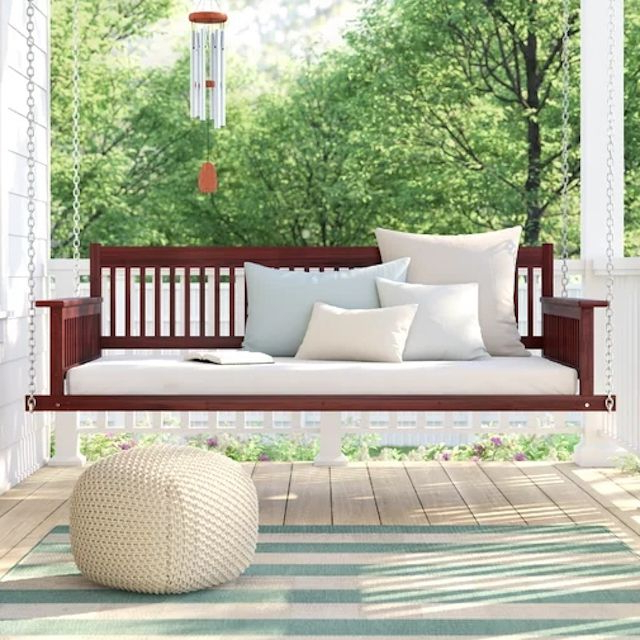 Porch Swings Regarding 2019 The 8 Best Porch Swings Of  (View 13 of 20)