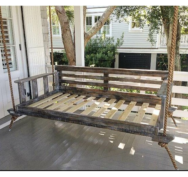 Porch Swings Regarding Current Noah Porch Swing (Gallery 4 of 20)