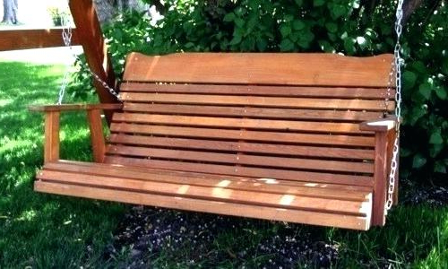 Preferred Cypress Porch Swing Lowes – Costurasypatrones Pertaining To 5 Ft Cedar Swings With Springs (View 19 of 20)