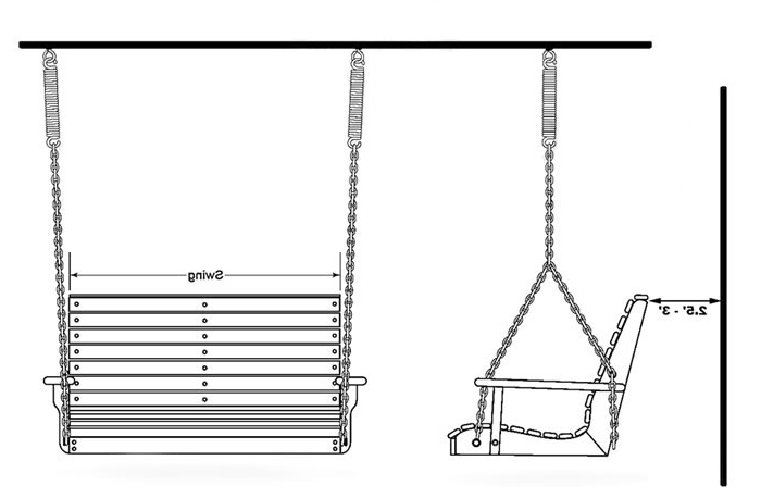 Preferred How To Install A Porch Swing – Porch Swings – Patio Swings In Porch Swings With Chain (View 8 of 20)