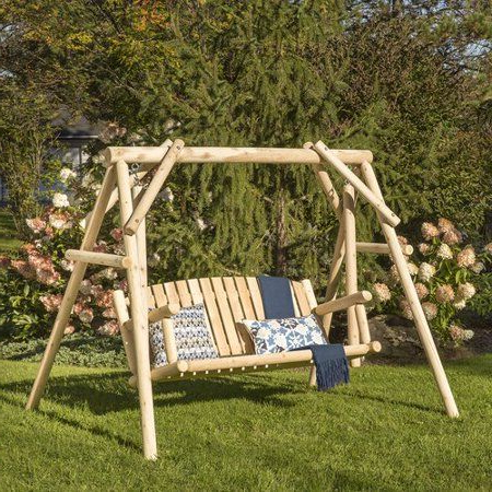 Preferred Loon Peak Hooper Porch Swing With Stand (View 9 of 20)